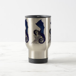 The Eternal Embrace Unicorn and Dragon 15 Oz Stainless Steel Travel Mug