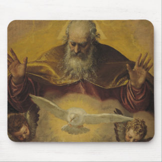 The Eternal Father Mouse Pad