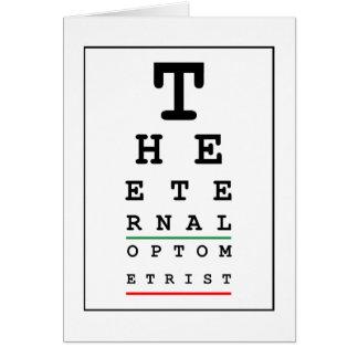 The Eternal Optometrist (Blank) Card