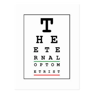 The Eternal Optometrist Postcard