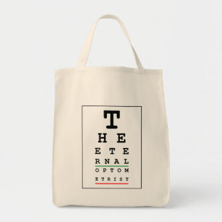 The Eternal Optometrist Tote Bag
