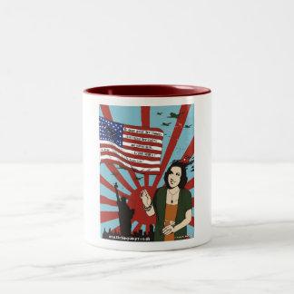 The ''Ethel Merman NYC Pearl Harbor WW2'' Mug