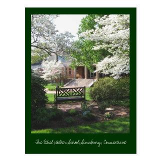 The Ethel Walker School, Springtime Postcard