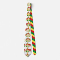 The Ethiopian Imperial Coat of arms Neck Tie