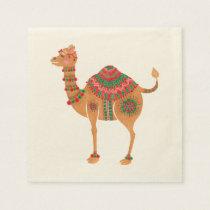 The Ethnic Camel Paper Napkin