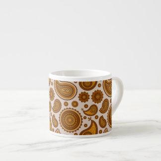The Ethnic Paisley Espresso Cup