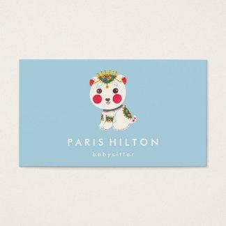 The Ethnic Polar Bear Business Card