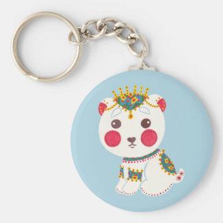 The Ethnic Polar Bear Keychain