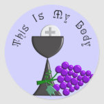 The Eucharist Chalice & Communion Host Gifts Stickers