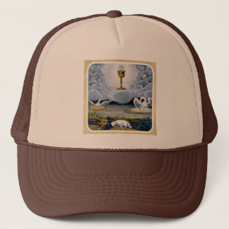 The Eucharist Trucker Hat