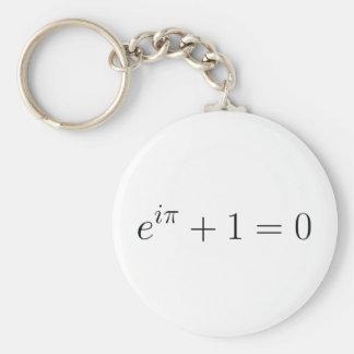 The Euler formula Keychain