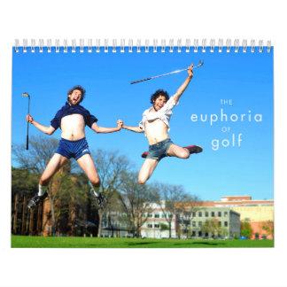 The Euphoria of Golf Wall Calendars