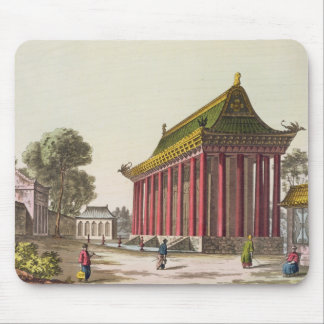 The 'European Palace' at Yuen-Ming-Yuan, illustrat Mouse Pad