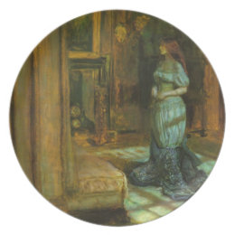 The Eve of St. Agnes fine art Plate