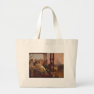 The Eve of the Deluge Large Tote Bag