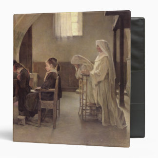 The Eve of the First Communion, before 1890 Vinyl Binder