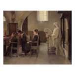 The Eve of the First Communion, before 1890 Print