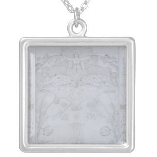 The Evening, 1803 Silver Plated Necklace