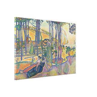 The Evening Air Canvas Print