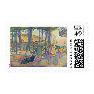 The Evening Air Postage Stamp
