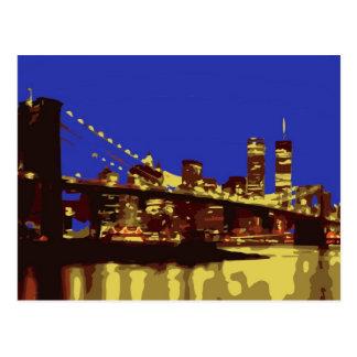 The Evening Lights Postcard