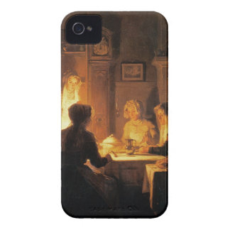 The Evening Meal, c.1900 (oil on canvas) iPhone 4 Case-Mate Case