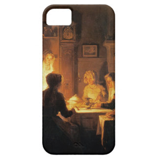 The Evening Meal, c.1900 (oil on canvas) iPhone SE/5/5s Case