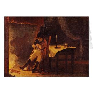The Evening of the Battle of Champaubert, 1814 Card
