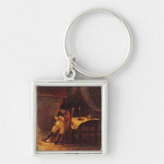 The Evening of the Battle of Champaubert, 1814 Keychain