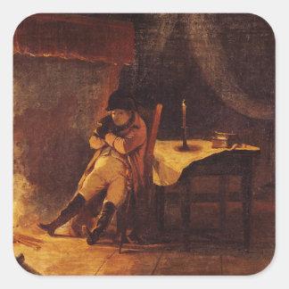 The Evening of the Battle of Champaubert, 1814 Sticker