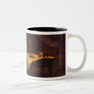 The Evening of the Battle of Champaubert, 1814 Two-Tone Coffee Mug