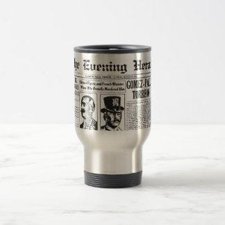 The Evening Post 1914 News Paper Travel Mug