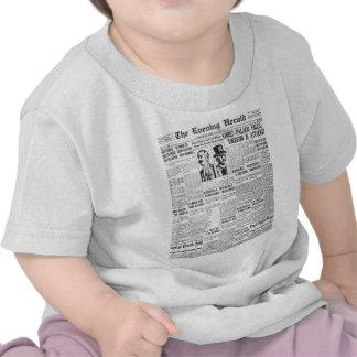 The Evening Post 1914 News Paper Tee Shirt