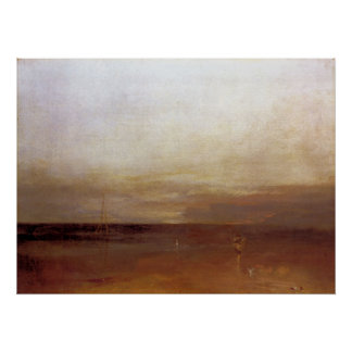 The evening star by Joseph Mallord Turner Print