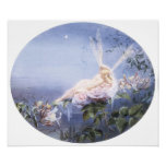 The Evening Star, Fairy Painting Poster