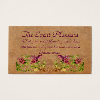 The Event Planners Profile Card