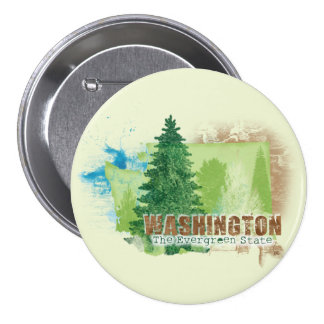 The Evergreen State Pinback Buttons
