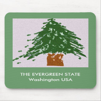 The Evergreen State Mouse Pad