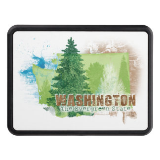 The Evergreen State Tow Hitch Cover