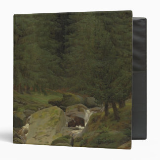 The Evergreens by the Waterfall 3 Ring Binder