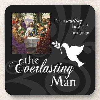 The Everlasting Man Cork Coaster