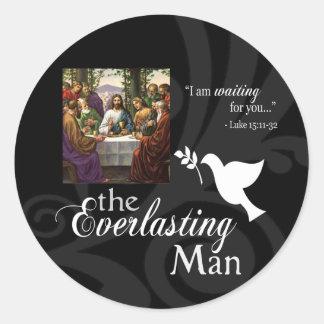 The Everlasting Man Sticker