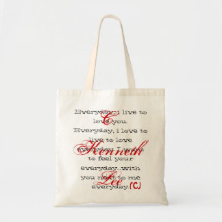 """The """"Everyday"""" Bag- by C. Kenneth Lee Tote Bag"""