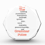 The Everything Police Award