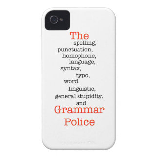 The Everything Police iPhone 4 Case-Mate Case