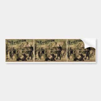 The Eviction Hubert O Grady Vintage Theater Bumper Sticker