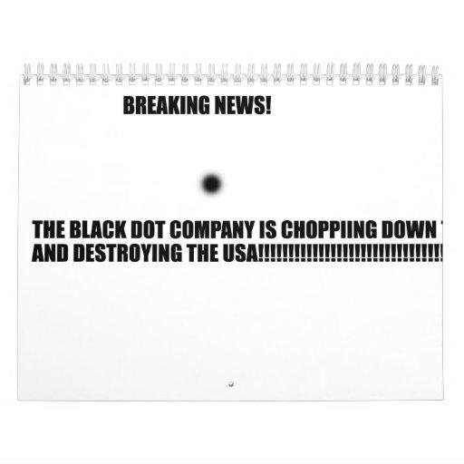 The Evil Black Dot Calendar