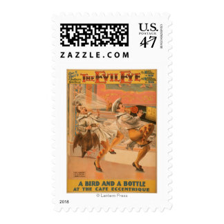 """The Evil Eye """"A Bird & a Bottle"""" Theatre Stamp"""