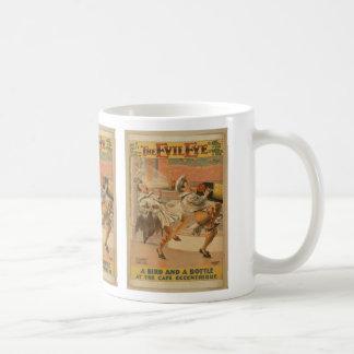 The Evil Eye Classic White Coffee Mug