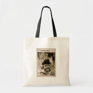 The Evil Eye, 'Nid and Nod trifle with Evil Eye' Budget Tote Bag